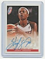 2006 WNBA Authentic Autograph Sheryl Swoopes Houston Comets 2005 All WNBA HOF