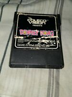 Donkey Kong Video Game Coleco Vision Cartridge Only 😁