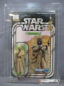 Star Wars AFA 80 SAND PEOPLE 12 Back-B A New Hope 1978 Vintage Tusken Raider