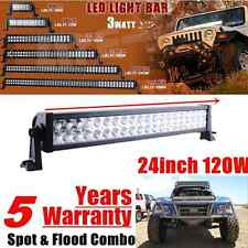 24 inch Led Light Bar Work Combo Off Road Truck Jeep Ford 4WD UTE ATV SUV 24/20