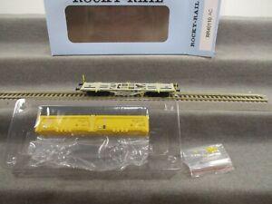 Rocky-Rail H0 RR40110 AC Güterwagen Containertragwagen beladen DB in OVP