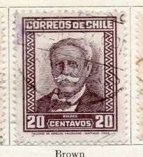 Chile 1931-34 Early Issue Fine Used 20c. 097997