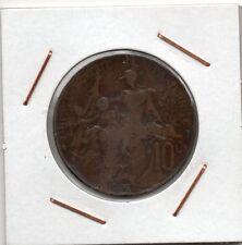France : 10 Centimes 1902 ( Dupois ) VF