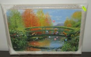 """Disney Peter Ellenshaw Winnie the Pooh """"Autumn Comes to the Woods"""" DELUXE #48/50"""