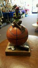 basketball player coin stash trinket box  figurine rick rowley