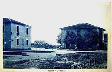 Acilia Piazza viaggiata 1938 9x13 Matte-Rome