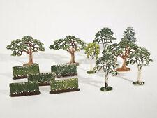 Siku V-Serie Plastik - Bäume u. Hecken Konvolut