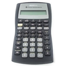 Texas Instruments BA II Plus Business Analyst Financial Calculator Works Tested