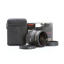 Canon Sigma EX 3,5/8 DG Fisheye + NEU (229711)
