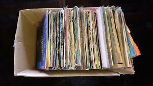 Schallplatten Sammlung Vinyl >100 Singles Intern Rock Pop Beat 60er 70er 80er