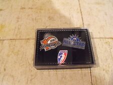 WNBA 10 year All Star game anniversary two pin set