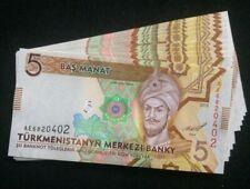 10 Pieces 2012 Turkmenistan  Consecutive Serie 5 Manat ( P 30 ) - UNC -