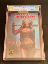 Detective Comics 1000 CGC 9.9 Jee Hyung Lee Harley Quinn Variant not CGC 9.8