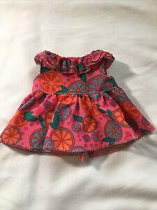 Hasbro Baby Alive Snackin Sara Doll 2014 Replacement Dress Shirt Dark Pink