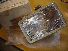 NOS Yamaha OEM Headlight Lens Assembly 1987-2000 TW200 2JX-84320-A0