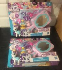2x My Little Pony Play sets: Rarity Mirror Boutique: The Movie Hasbro