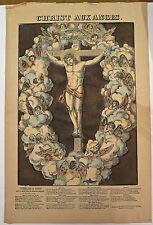 Imagerie populaire, Pellerin,Georgin, Epinal, Christ aux Anges, 1840-52