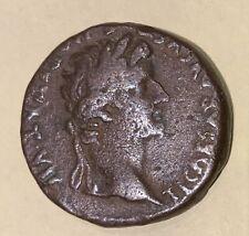 RARE!  Monnaie Romaine Tiberius, TIBERE TTB, Cuivre
