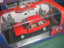 IXO / IST Models 096 - Lada Samara 2 Doors 1986 red - 1:43 Made in China