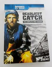 Deadliest Catch The Complete First Season 5 Disc DVD Set Discovery Channel 7 Hrs