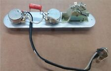 Telecaster 3 Way REVERSE Wiring Harness CTS Pots, CRL Switch +Treble Bleed