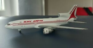 "Air India V2-LEJ, Lockheed L-1011-500 ""Tristar"" 1:400 Herpa model Top Condition"