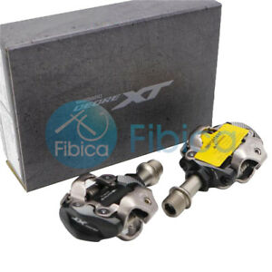 New 2020 Shimano Deore XT SPD XC PD M8100 MTB Pedals with cleats