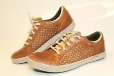 Cushe Shumakers Mark Tan Mens 8 41 Brown Leather Sneakers Fashion Shoes