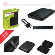 T163014 HDX Toshiba 2 5 500gb Usb3.0 Canvio Basics Black *clcshop/es*