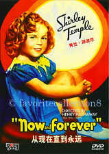 Now and Forever (1934) - Shirley Temple, Gary Cooper - DVD NEW