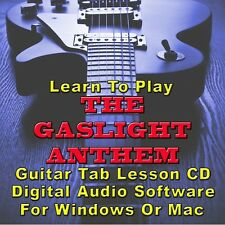 GASLIGHT ANTHEM (THE) Guitar Tab Lesson CD Software - 12 Songs