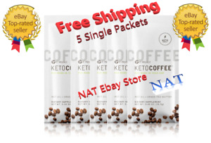 It Works Keto Coffee Sealed 5 single packets Carb Management Free Shipping 🚚🚚