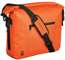Stormtech Waterproof Laptop Messenger Shoulder Student College Bag Orange