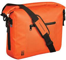 STORMTECH IMPERMEABILE Laptop Messenger Spalla Studente di College Borsa Arancione
