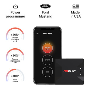 RSCHIP Ford Mustang GT tuning chip power programmer performance tuner OBD2