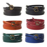 Unisex Fashion Multilayer Bracelet Leather Bangle Wristband Vintage Punk