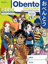 Obento Deluxe Workbook and Videos CDs by Sue Xouris Kyoko Kusumoto Japan