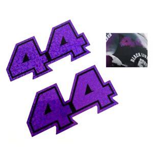 Lewis Hamilton Sticker 44 Vinyl Decal 2020 Purple Sparkle F1 Formula 1