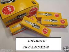 10 CANDELE NGK BP8ES