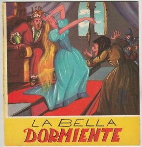 Fiaba - La bella dormiente - anni 50 - editrice Alfa di Firenze - illustrato