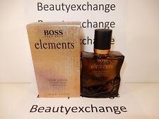 Hugo Boss Elements Cologne Eau De Toilette Spray 3.3 oz Boxed