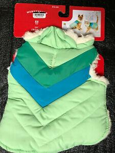 Target Wondershop Pet / Dog Jacket with Soft Sherpa Style Lining Size XS