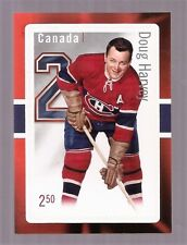 CANADIAN CANADA POST Doug Harvey HOCKEY $2.50 STAMP-CARD NM MINT