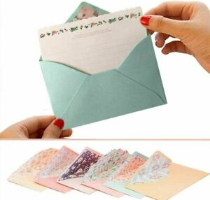 32 Cute Lovely Kawaii Special Design Writing Stationery Paper+16 Envelope