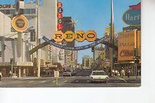 Fantastic Gateway Arch to Casino Area Reno  NV
