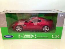 Welly - Nex 1/24 Alfa Romeo 8C Competizione