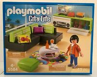 Playmobil City Life 5584 Designerwohnzimmer - Neu & OVP zu VILLA 5574