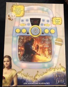 Disney Beauty & the Beast Enchanting Karaoke Player with Mic / Bonus Disc