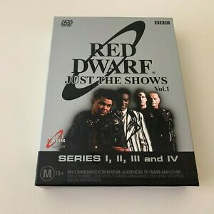 Red Dwarf Just the Shows Vol. 1 4-disc Box Set DVD Region 4