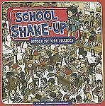 School Shake-Up: Hidden Picture Puzzles (Seek It Out)-ExLibrary